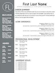 Stand Out Resume Templates Mesmerizing Stand Out Resume Templates New Free Resume Templates That Stand Out