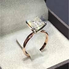 Modyle New <b>Female Crystal</b> White <b>Zircon</b> Stone Ring Set Luxury ...