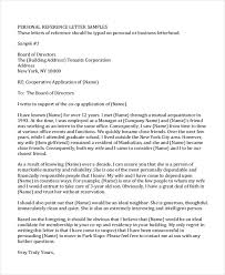 Free 5 Sample Personal Recommendation Letters In Pdf Doc