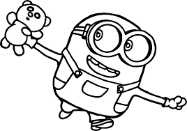 Dispicable Me Coloring Pages Despicable Me Coloring Pages To Print