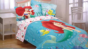 themed little mermaid toddler bedding
