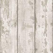 arthouse white wood wallpaper image 1