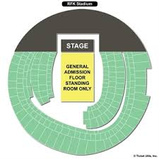 Rfk Stadium Concert Seating Chart 53 Meticulous Rfk Stadium Seating Map