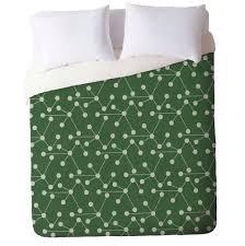 emerald green duvet cover