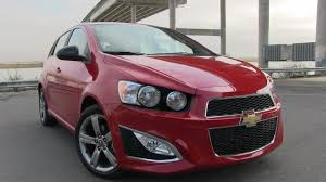 2013 Chevrolet Sonic RS First Drive Review & 0-60 MPH Test - YouTube