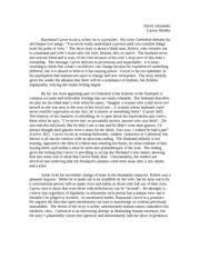 by raymond carver essay raymond carver critical essays enotes com