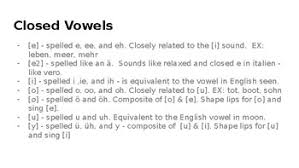 It has a beginning section on the description of. Diction International Phonetic Alphabet Slides German By Musical Maven