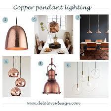 copper lighting pendants. Plain Lighting Copper Lighting  Delolovesdesign Inside Lighting Pendants H