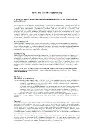 Website Terms And Conditions Template Awesome Web Site Terms And Conditions Template Portal Of Use Website