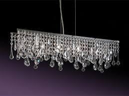 ariel four light crystal chandelier