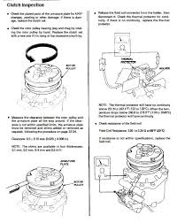 ac wiring diagram honda tech 3 check the thermal protector for continuity