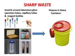 sharp disposal. sharp sharp disposal