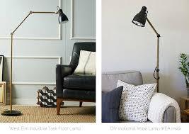 ikea floor lamps lighting. DIY WestElm Inspired Industrial Task Floor Lamp IKEA AROD Hack Ikea Lamps Lighting