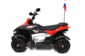 Детский <b>электроквадроцикл</b> Р333РР красный | <b>RiverToys</b>.ru
