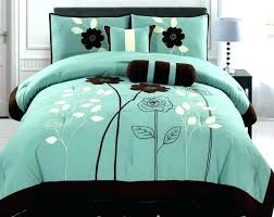 chocolate and teal bedding teal and brown comforter brown teal and brown king bedding