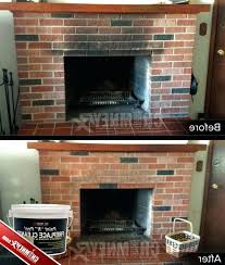 how to clean soot photo 1 of 9 how to clean soot from fireplace brick 1
