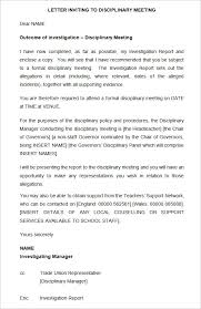 disciplinary policy template. 20 Sample Disciplinary Letter Templates Word Apple Pages Google