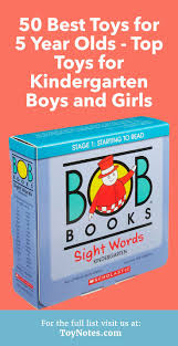 50 Best Toys for 5 Year Olds \u2013 Top Kindergarten Boys and Girls -