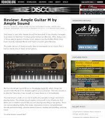 review le guitar m by le sound