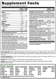 vegan tropical strawberry shakeology nutrition info and ings facebook bondfit myshakeology bondfit