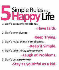 Happy Quotes On Life Life Quotes Five Simple Rules To Get Happy Life This Is Funny Quote 68