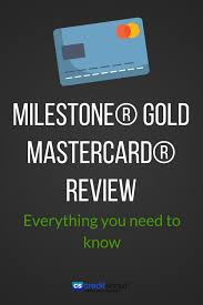 the milestone mastercard is a good card to own for those of you that