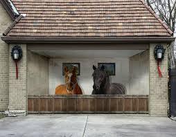 garage door murals3D Stable Horses 6 Garage Door Murals Wall Print Decal Wall Deco