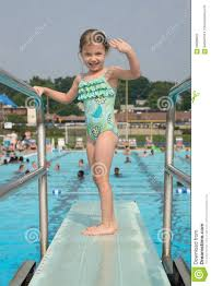 public swimming pools with diving boards. Royalty-Free Stock Photo Public Swimming Pools With Diving Boards S