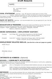 Babysitter Resume Objective Babysitting Resume Examples Best ...