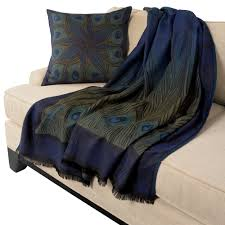 Peacock Inspired Home Decor Louis C Tiffany Peacock Feather Throw The Met Store