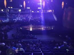 Times Union Center Seating Chart Basketball Section 122 At Cirque Du Soleil Dralion Picture Of Times