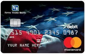 american flag debit card