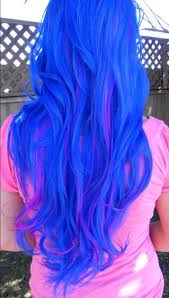 Bright Blue Hair Dye Color For