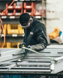 how to install steel door frames