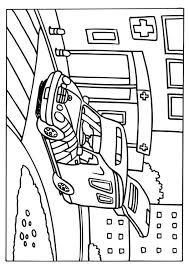 Kleurplaat Ziekenwagen Afb 6579 Images