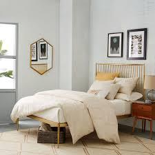 unique bed frames. Metallic Spindle Unique Bed Frames D