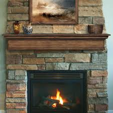 stone look electric fireplace comfort glow the concord compact gray faux mantel suites