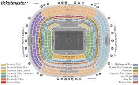 Estadio Azteca Seating Chart Plus