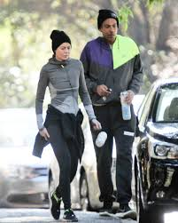 Ellen Pompeo Husband Pompeo Works Out In Los Feliz With Her Husband Chris Ivery 12 18