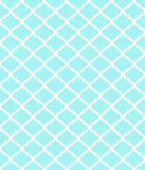 Light Blue Pattern Simple Decorating Ideas