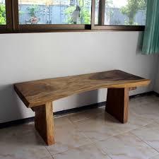 natural wood bench. Exellent Wood Acacia Wood Bench Throughout Natural U