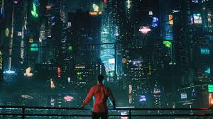 futuristic cyberpunk future world 4k horizontal