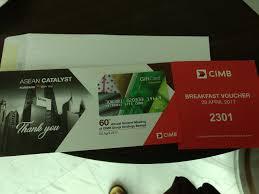 Decorating red door gifts photos : Bursa Door Gifts — Agm 2017 / 13. CIMB @ CONNEXION@NEXUS 28th ...