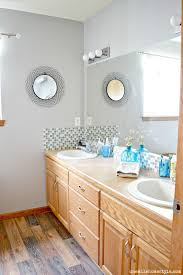 basic bathrooms. Adding Updated Flooring And A Tiled Shower To Builder Basic Master Bathroom. Bathrooms I