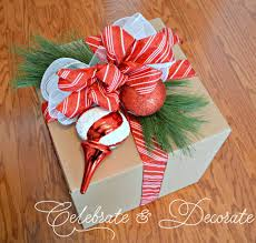 Decorating Cardboard Boxes DIY Christmas Decorations with Boxes Celebrate Decorate 52