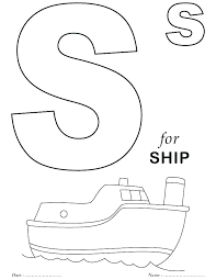 Letter Coloring Pages Printable Free Coloring Page Color By Letter