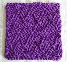Knit Dishcloth Pattern Fascinating 48 Knit Dishcloth Patterns For Beginners AllFreeKnitting