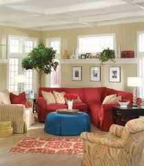 exciting living room paint colors red