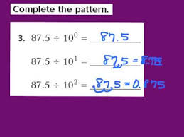 Multiplication Patterns With Decimals Lesson 41