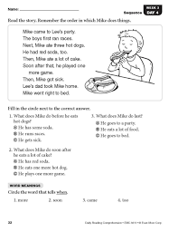 Get the curious little explorers to read the poem and answer the questions. Extraordinary Free Comprehension Worksheetsr Grade Picture Ideas Worksheet Book English Workbook Pdf Printable Samsfriedchickenanddonuts
